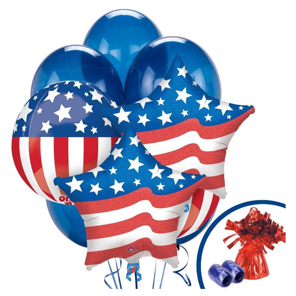 Patriotic Balloon Bouquet