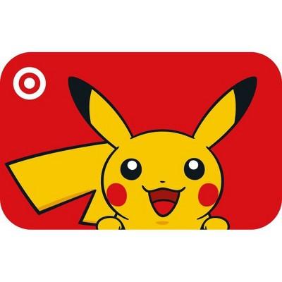 Pokémon Target GiftCard $50