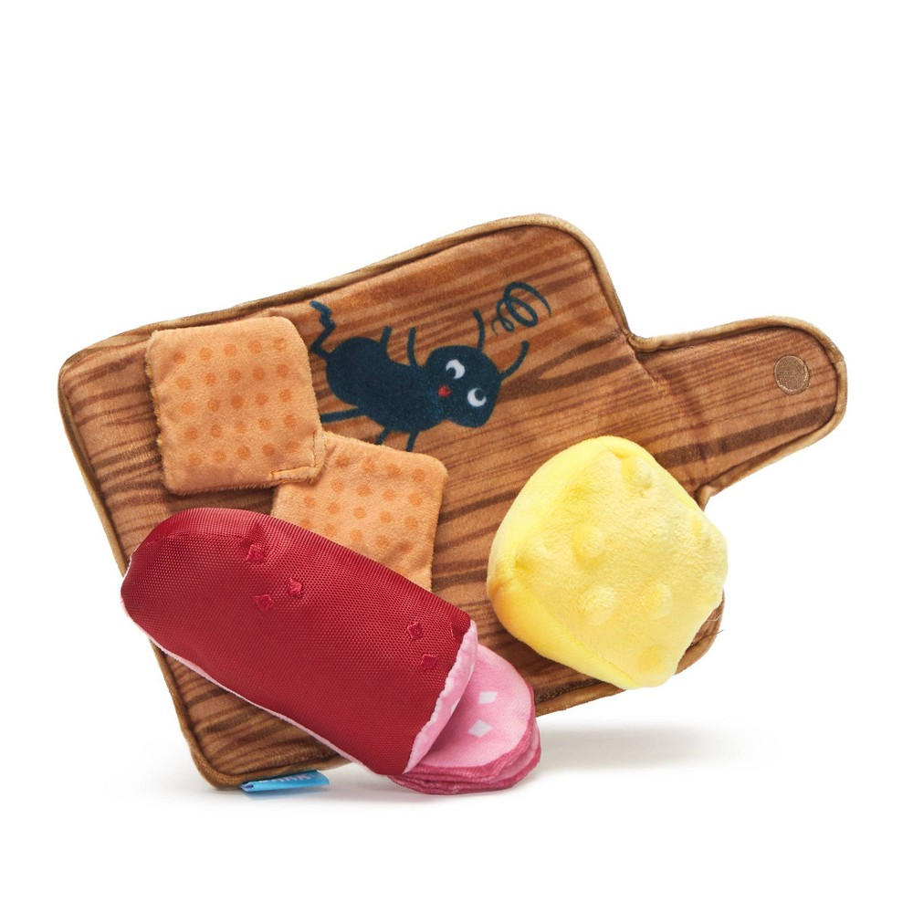 Bark Charcuterie Board Meat and Cheese Dog Toy