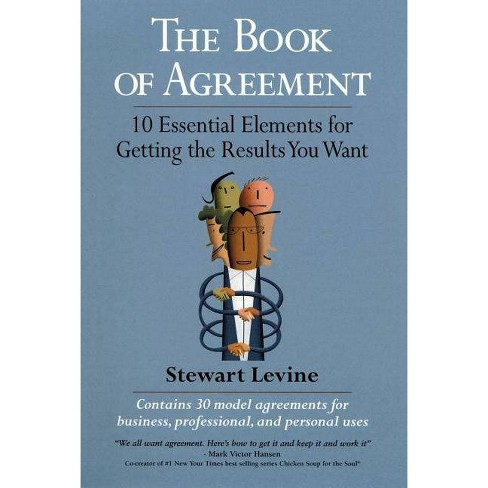 The Book of Agreement - by  Stewart Levine (Paperback) - image 1 of 1
