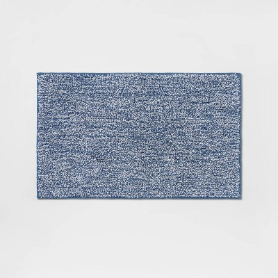 """20""""x34"""" Performance Texture Solid Accent Bath Rug - Threshold™"""