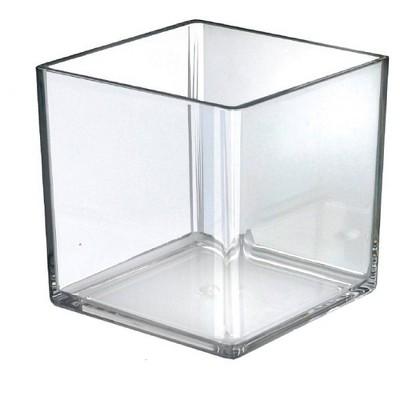 "Azar Displays 7"" X 7"" X 7"" 4pk Deluxe Cube For Countertop"