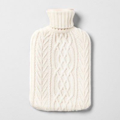 Hot Water Bottle with Knit Sleeve - Hearth & Hand™ with Magnolia
