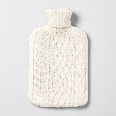 Hot Water Bottle With Knit Sleeve Hearth Hand Magnolia Target