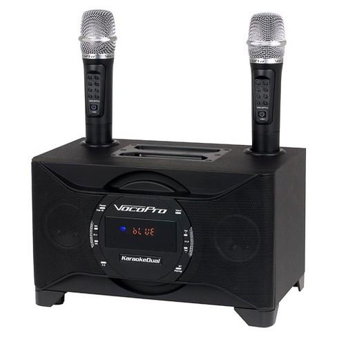 VocoPro KARAOKEDUAL All-In-One Karaoke Boom Box with Wireless Mics - image 1 of 5