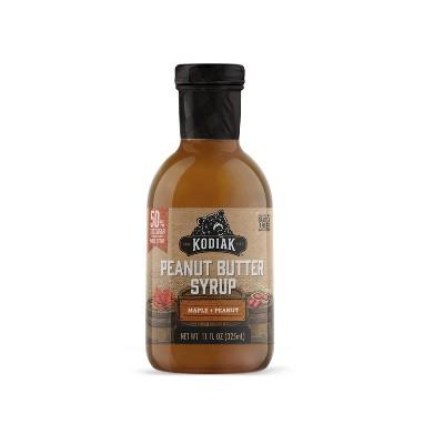 Kodiak Cakes Power Peanut Butter Maple Syrup - 11oz