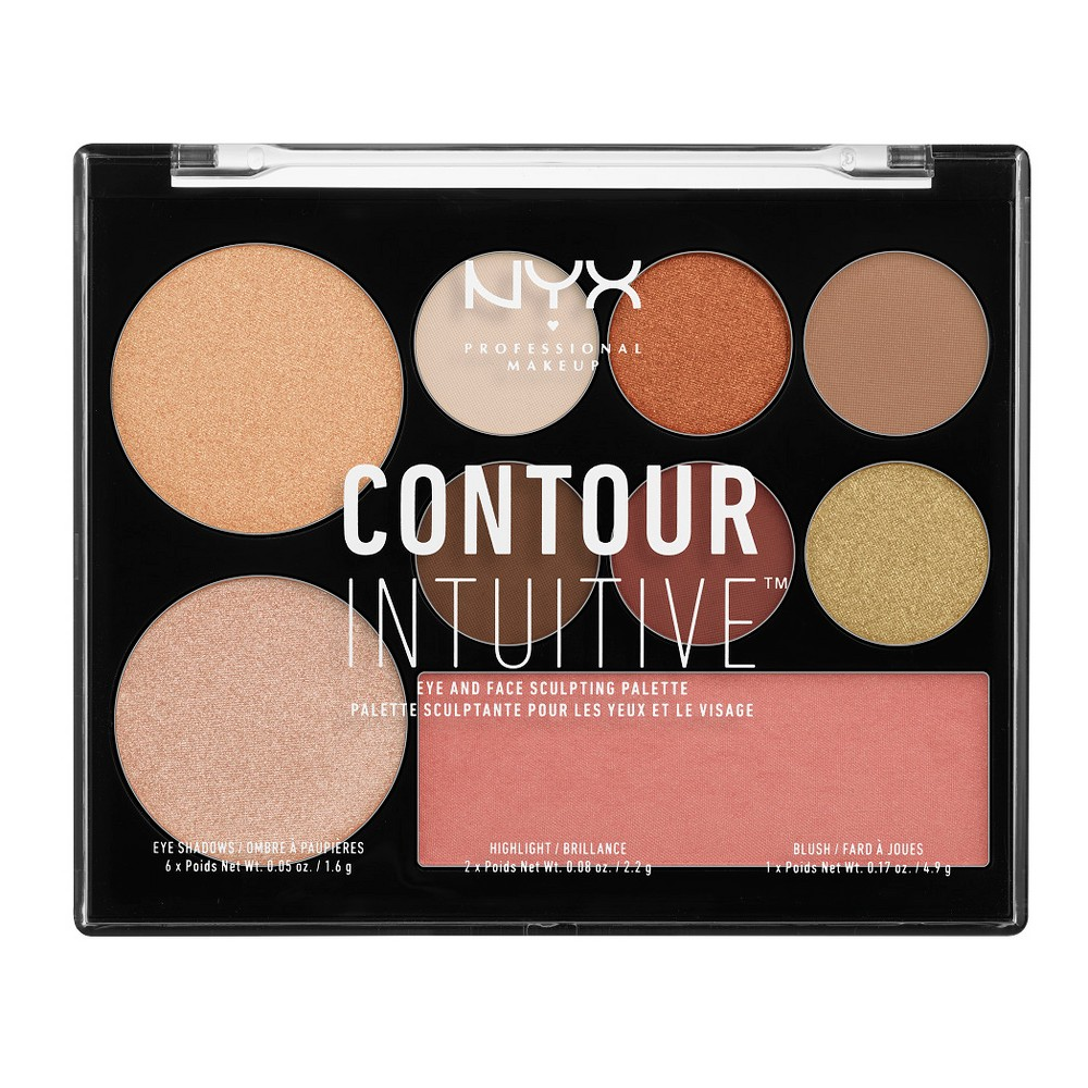 Nyx Professional Makeup Contour Intuitive Palette Warm Zone