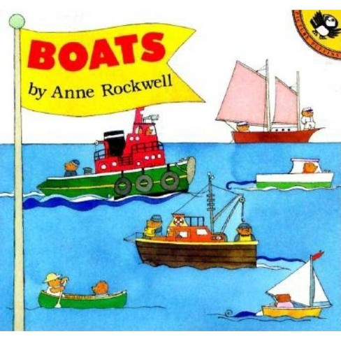 Boats - (Picture Puffin Books) by  Anne Rockwell (Paperback) - image 1 of 1