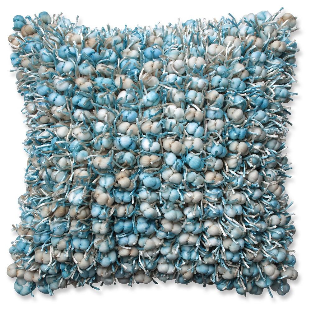 Blue Throw Pillow Glacier (18