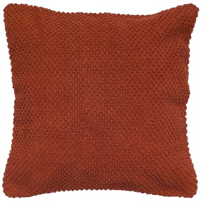 "20""x20"" Oversize Poly Filled Solid Square Throw Pillow - Rizzy Home"