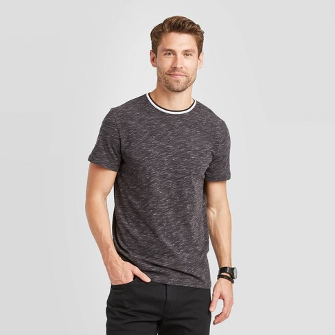 Men's Standard Fit Short Sleeve Novelty Crew Neck T-Shirt - Goodfellow & Co™ - image 1 of 3