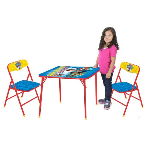 Paw Patrol Table and Chair (Set of 3) - Nickelodeon - image 1 of 5