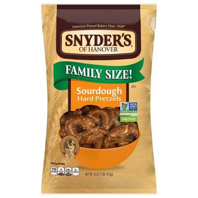 Snyder's Of Hanover The Pounder Hard Pretzels - Sourdough - 16oz