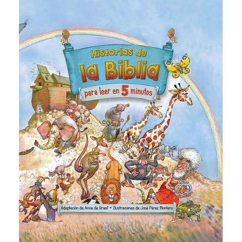Historias de la Biblia Para Leer En 5 Minutos / The Little Childrens Bible Storybook - (Hardcover) - image 1 of 1