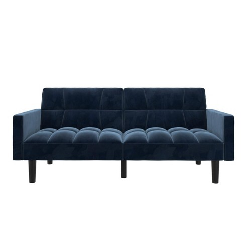 Holly Convertible Sofa Sleeper Futon with Arms - Room & Joy - image 1 of 4