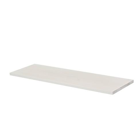 "23.6"" x 9.8"" Lite Vintage Pine Shelf White - Dolle Shelving - image 1 of 3"