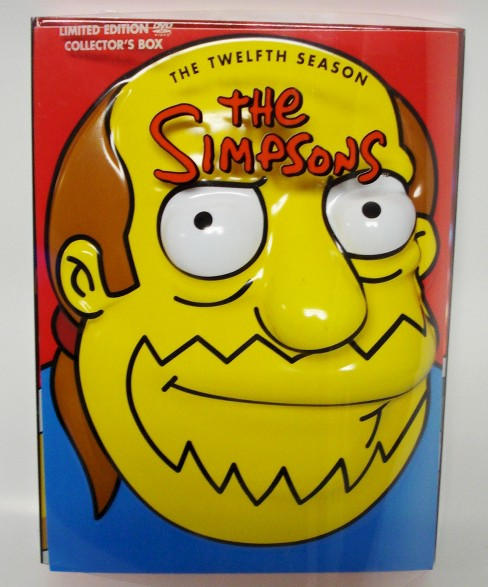 The Simpsons: The Twelfth Season [Limited Edition] [4 Discs] [Comic Guy Head Packaging] - image 1 of 1