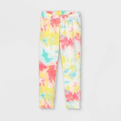 Toddler Girls' Tie-Dye Jogger Pants - Cat & Jack™