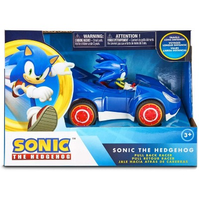 Nkok Sonic the Hedgehog Speed Star Pull Back Action Racer