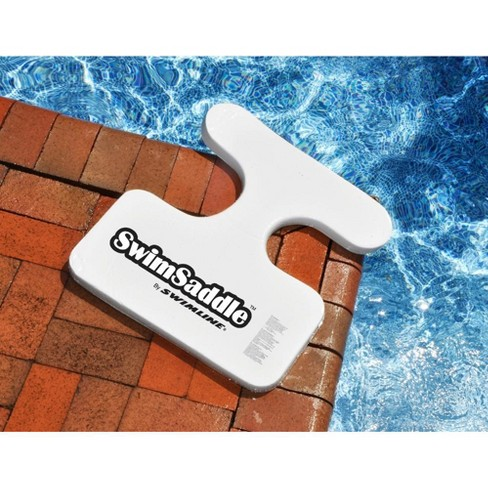 "Swimline 21"" Sofskin Floating Foam 1-Person SwimSaddle Swimming Pool Accessory - White - image 1 of 3"