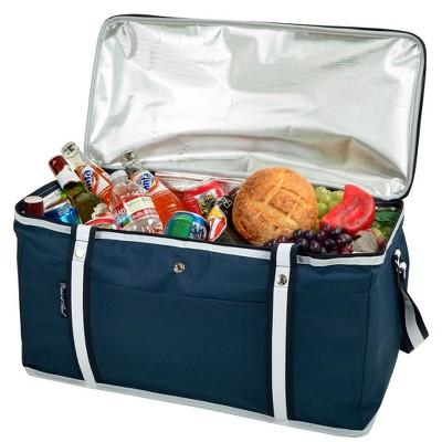 Picnic at Ascot Ultimate Day Cooler- Combines Best Qualities of Hard & Soft Collapsible Coolers