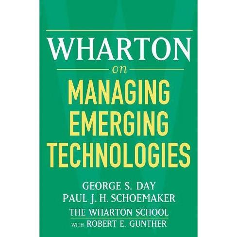 Wharton on Managing Emerging Technologies - (Paperback) - image 1 of 1