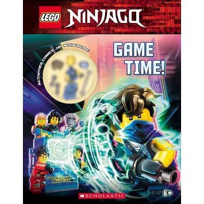 Game Time! - (Lego Ninjago) by  Ameet Studio (Mixed Media Product)