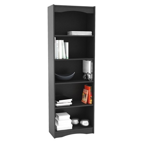 "Hawthorn 72"" Tall Bookcase - Midnight Black - Corliving - image 1 of 3"