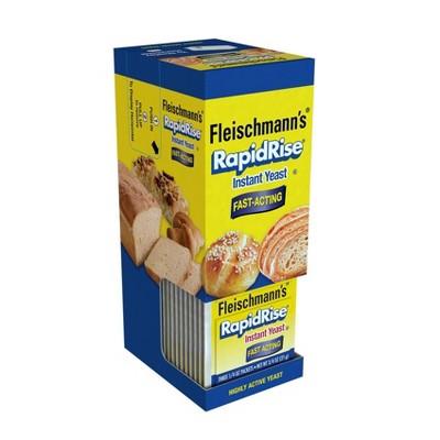 Yeast: Fleischmann's RapidRise Instant Yeast