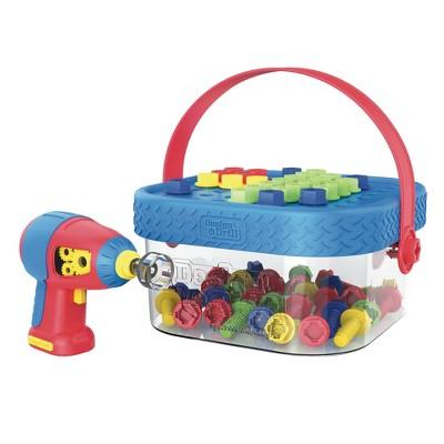 Educational Insights Design & Drill Bolt-It Bucket