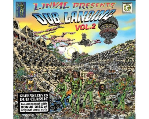 Linval Thompson - Dub Landing Vol 2 (CD) - image 1 of 1