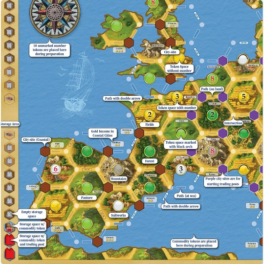 Catan Histories: Merchants of Europe Board Game image number null