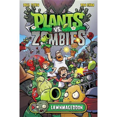 Plants vs. Zombies Volume 1: Lawnmageddon - by  Paul Tobin (Hardcover)