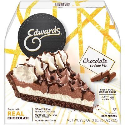 Edwards Frozen Chocolate Creme Pie - 25.5oz