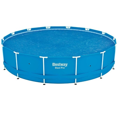 Bestway 58252E 14ft Round Above Ground Swimming Pool Solar Heat Cover  Blanket