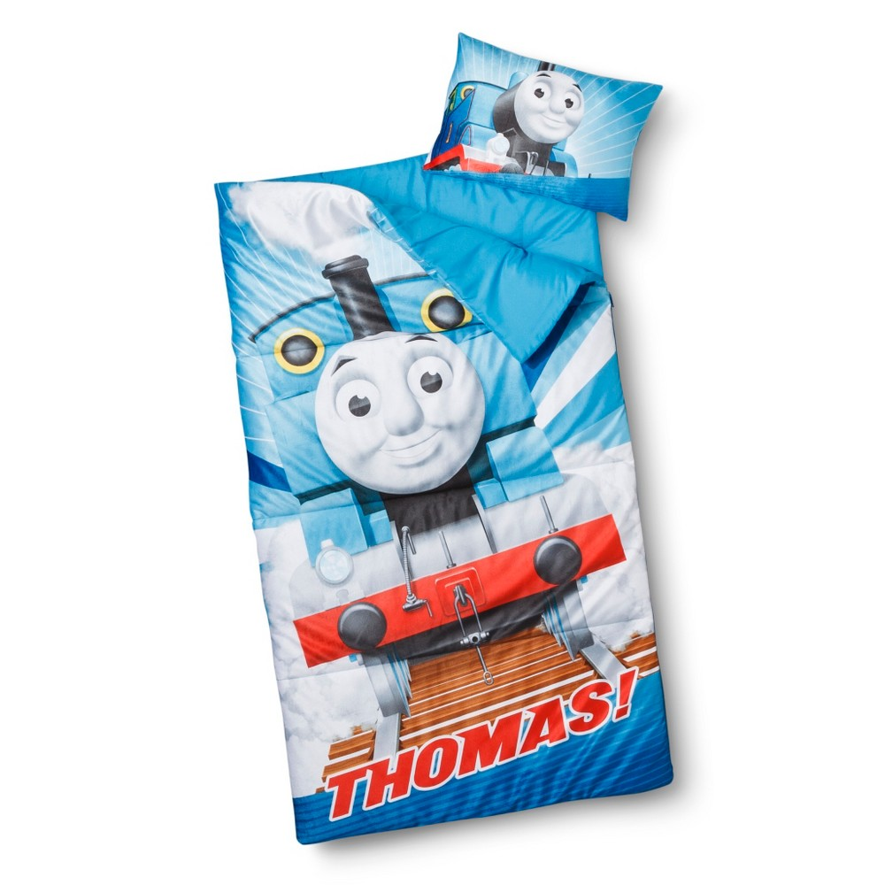 Thomas the Tank Engine Kids' 55 Degree Sleepover Set - Twin (Blue)