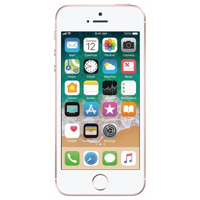 Apple iPhone Pre-Owned SE Unlocked (32GB) GSM Phone - Rose Gold