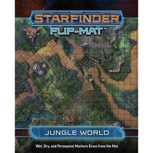 Starfinder Flip-Mat: Jungle World - by  Damien Mammoliti (Paperback) - image 1 of 1