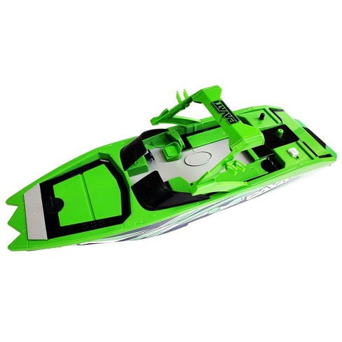 Pavati Remote Control RC Wakeboard Boat - 1:18 Scale - Green - image 1 of 2