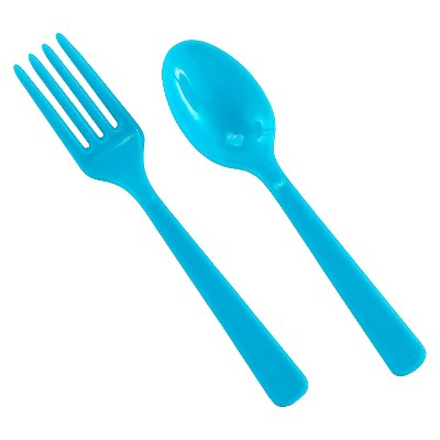 16ct Disposable Fork & Spoon Set