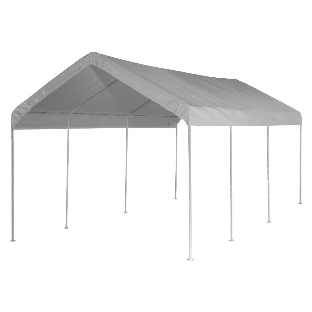 Shelter Logic 20' x 10' Max AP 8-Leg Canopy - White