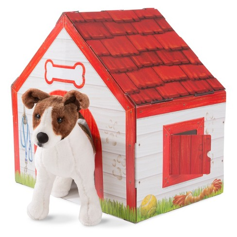Melissa & Doug Doghouse Plush Pet Playhouse - image 1 of 5