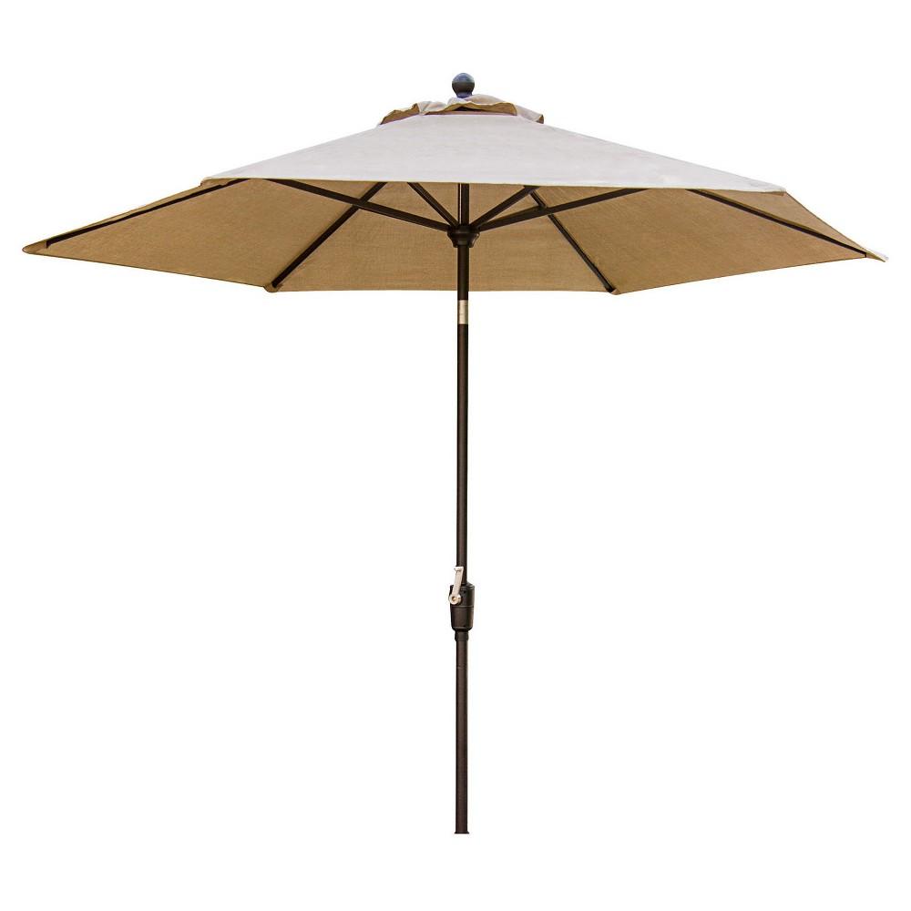 Image of Concord 11' Market Umbrella - Tan - Hanover