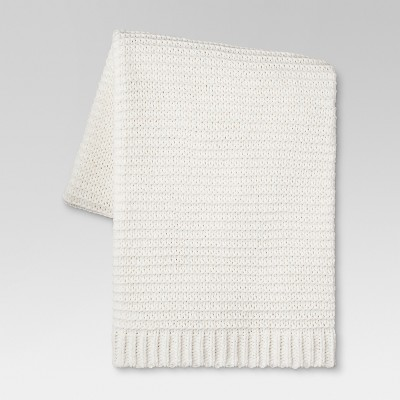 Chenille Throw Blanket (50 x60 )- Cream - Threshold™