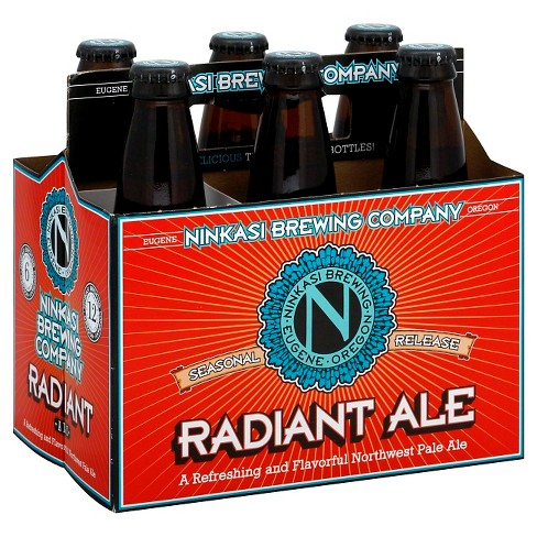 Ninkasi Radiant Summer Ale Beer - 6pk/12 fl oz Bottles - image 1 of 1