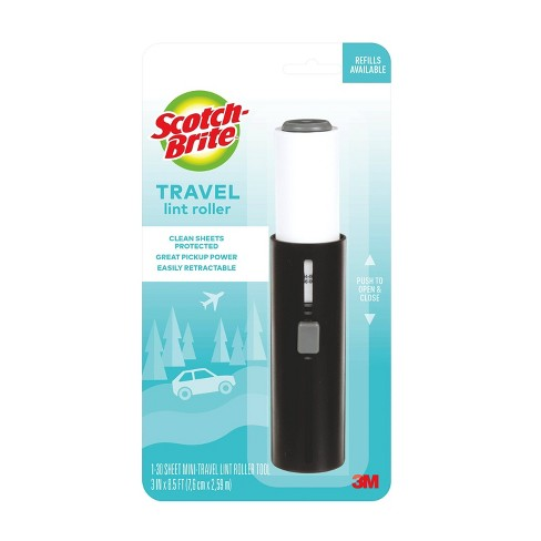 Scotch-Brite Mini-Travel Lint Roller - 30 Sheets - image 1 of 4