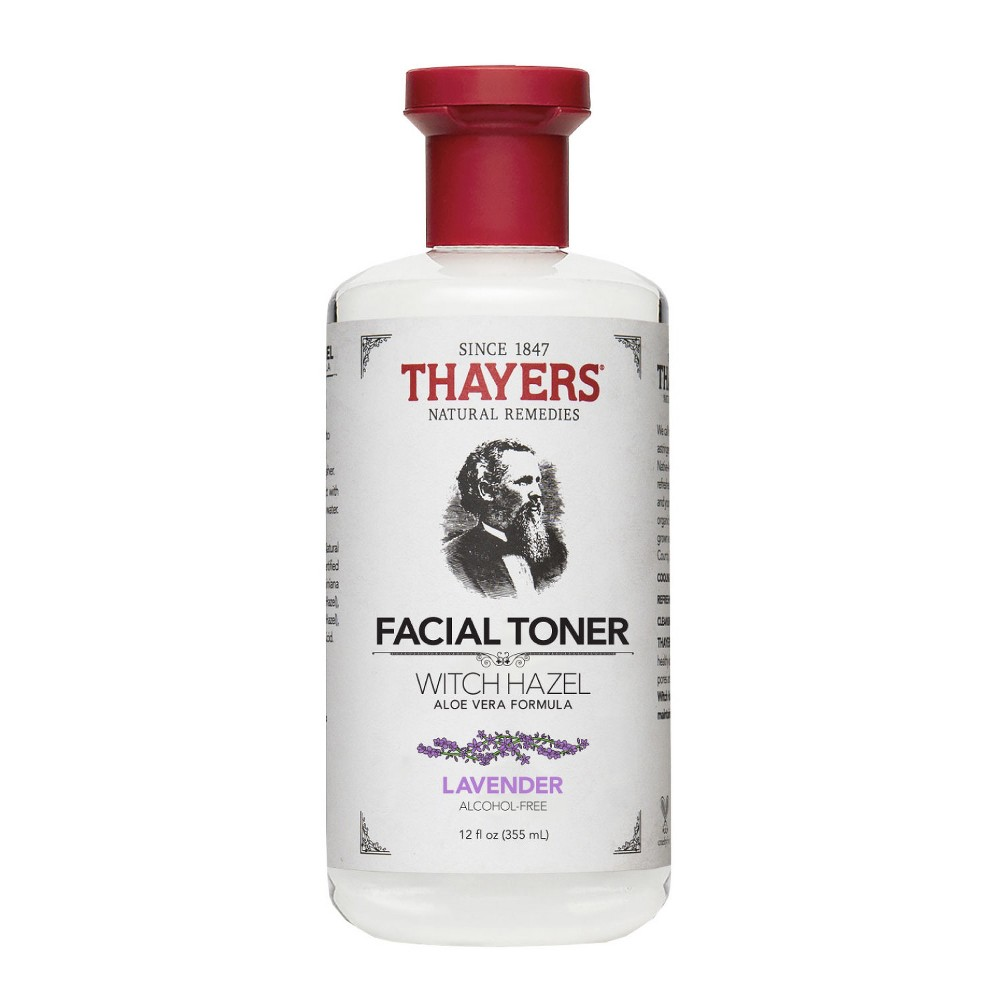 Image of Thayers Witch Hazel Alcohol Free Lavender Facial Toner - 12 fl oz