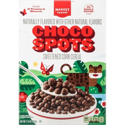 Choco Spots Breakfast Cereal - 11.8oz - Market Pantry™