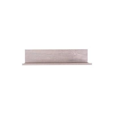 """12"""" No Stud Needed Floating Shelf Barn Wood - Hangman Products"""