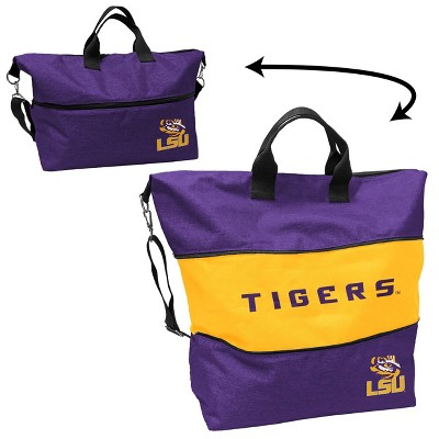 NCAA LSU Tigers Crosshatch Expandable Tote